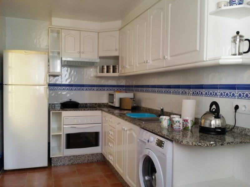 refridgerator, freezer, oven, hob, washing machine, sink